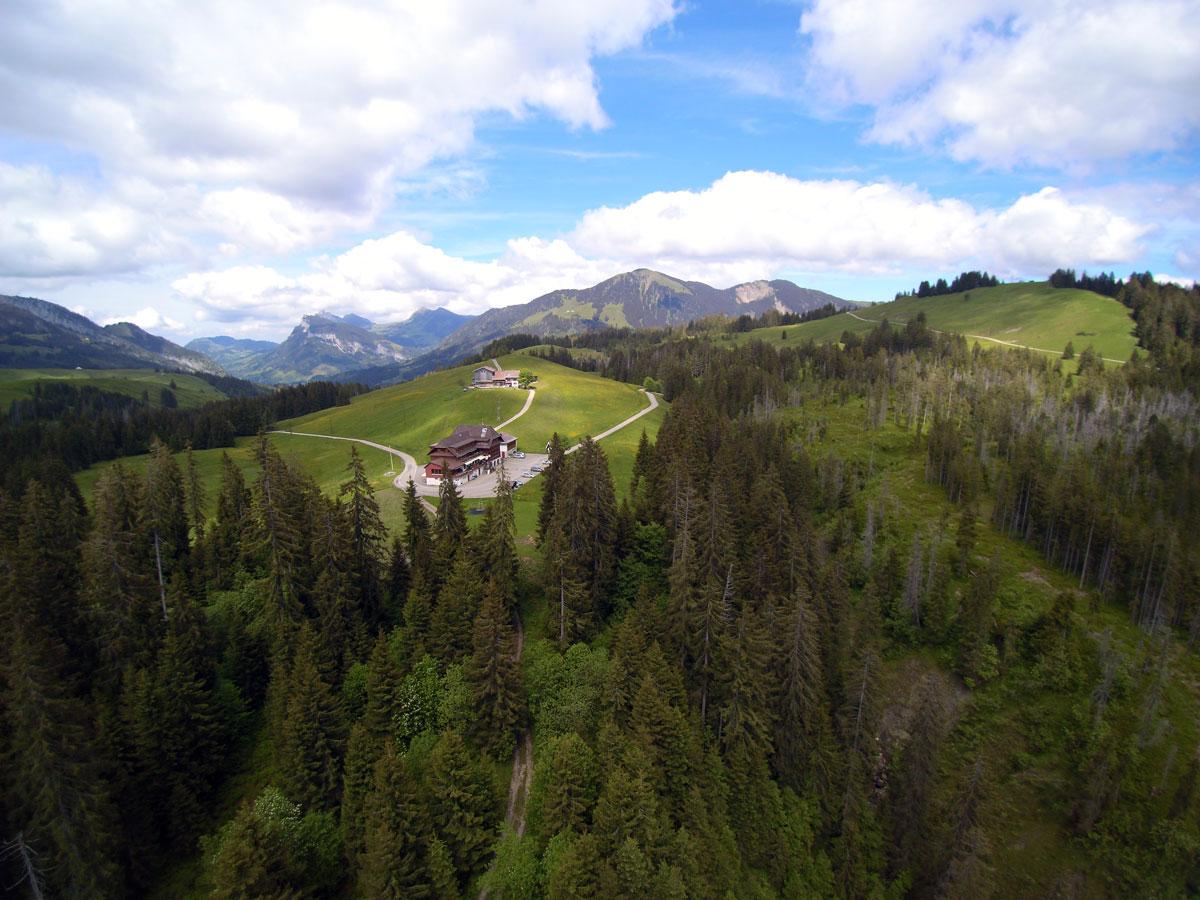 Gasthaus Salwideli Luftbild