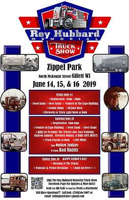 Roy Hubbard Memorial Truck Show - Gillett, WI