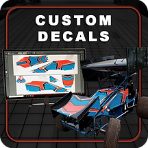 custom decal design and decal installation in Hubertus, WI at RTI body shop