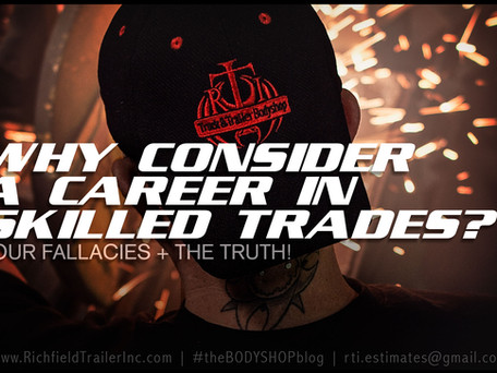 WHY CONSIDER A CAREER IN SKILLED TRADES?
