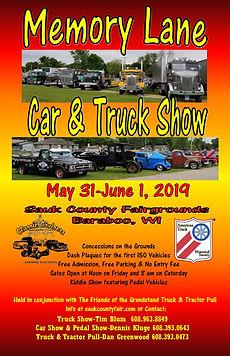 Memory Lane Truck Show - Baraboo,WI