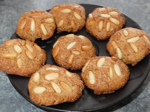 Biscotti ai pinoli glutenfree, vegan