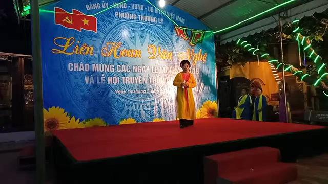 Liên hoan văn nghệ chào mừng các ngày lễ lớn tại phường Thượng Lý- Quận Hồng Bàng- Tp. Hải Phòng.