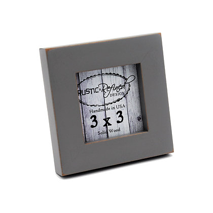 "3x3 1"" Gallery Picture Frame - Grey"