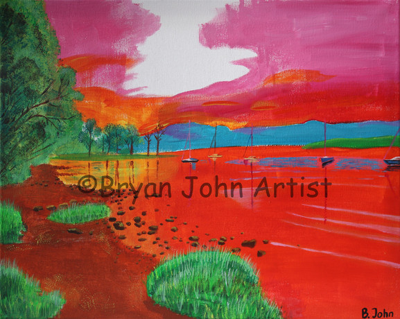 Ullswater in Red