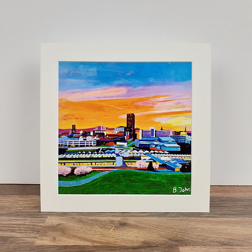 Sheffield at Sunset