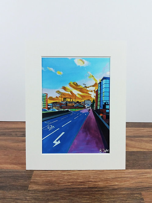 Derek Dooley Way, Kelham Island - Sheffield