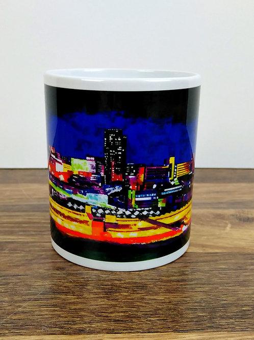 Sheffield Mug - Night View