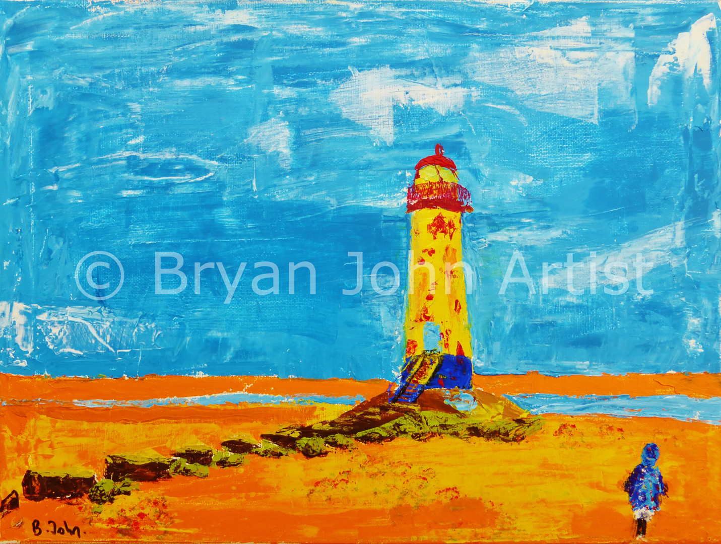 To the Lighthouse - Talacre Wales