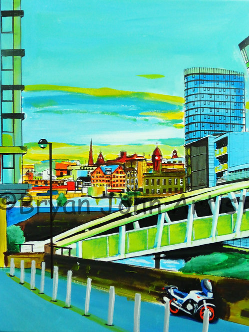 Footbridge over the River Don - Sheffield