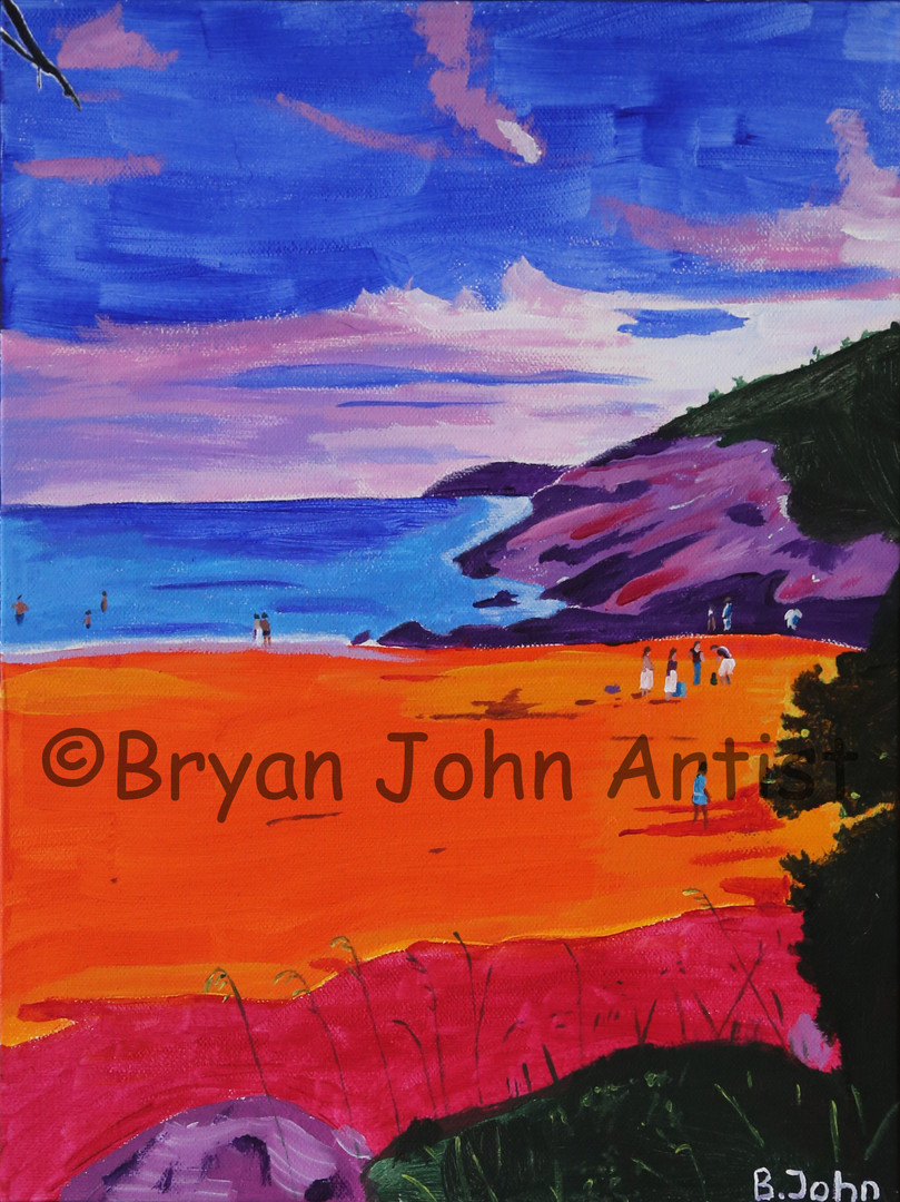 Acadia in Orange
