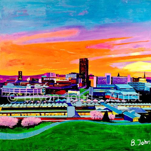 Sheffield at Sunest
