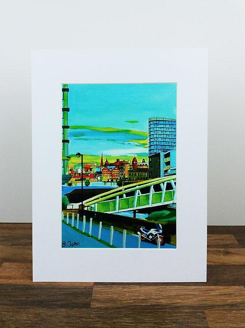 Footbridge over the River Don