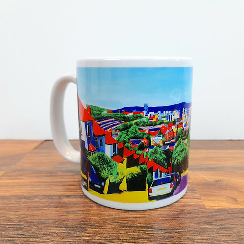 View from Bishopscourt Road - Mug