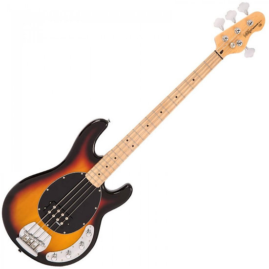 VINTAGE ACTIVE BASS- SUNSET SUNBURST