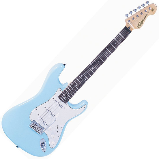 VINTAGE ELECTRIC GUITAR- LAGUNA BLUE