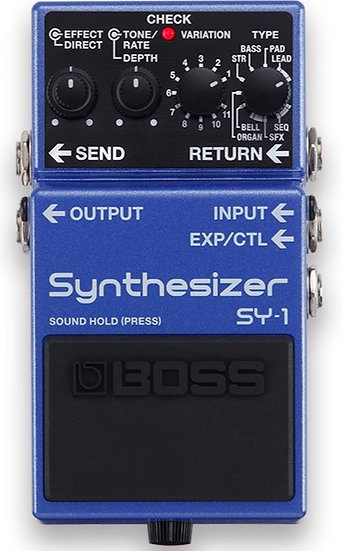 Boss SY-1 Guitar Synthesiser Pedal