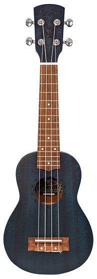 LAKA SOPRANO UKULELE & BAG - MIDNIGHT BLUE