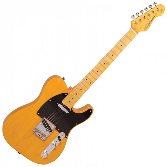 VINTAGE V52 ELECTRIC GUITAR - BUTTERSCOTCH