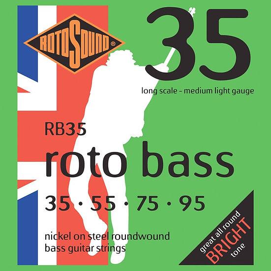 Rotosound Bass Strings Medium Light