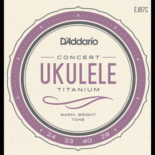 D'addario Titanium Concert Ukulele Strings