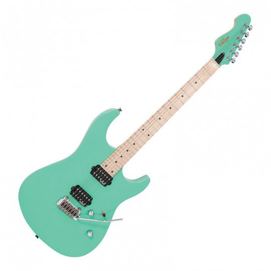 VINTAGE V6 24 ELECTRIC GUITAR - VENTURA GREEN