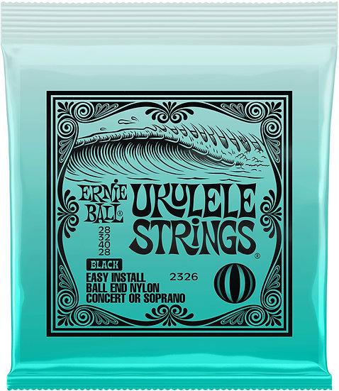Ernie Ball Ukulele Strings Black