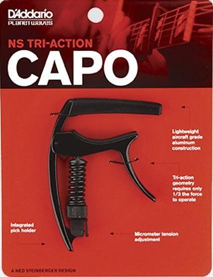 Planet Waves D'addario NS Tri-Action Capo
