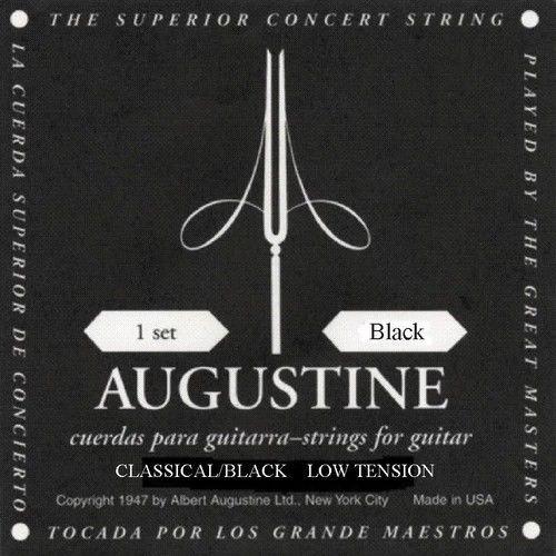 Augustine Classical Nylon String Black