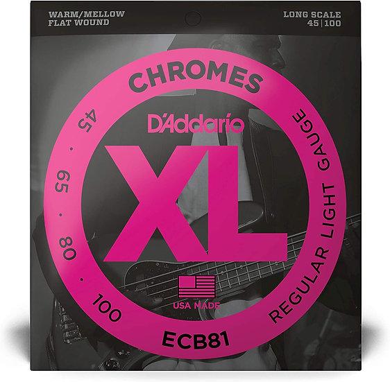 D'addario Chromes Regular Light
