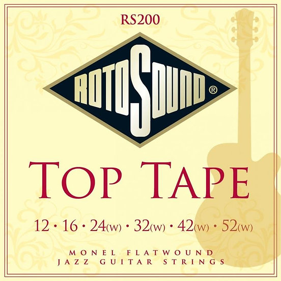 Rotosound Top Tape Flatwound Jazz Strings