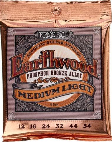 Ernie Ball Earthwood Phosphor Bronze Medium Light