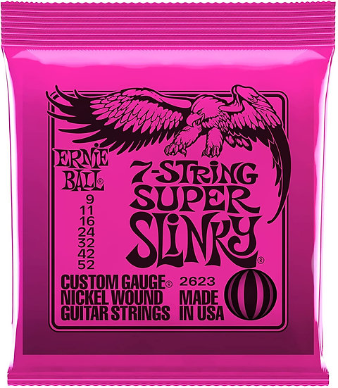 Ernie Ball 7-String Super Slinky
