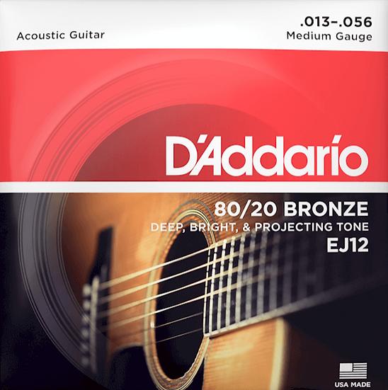 D'addario 80/20 Bronze Medium
