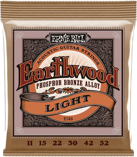 Ernie Ball Earthwood Phosphor Bronze Light