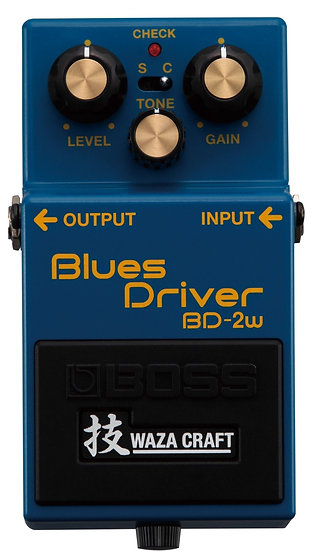 Boss BD-2W Waza Craft Blues Drive Pedal