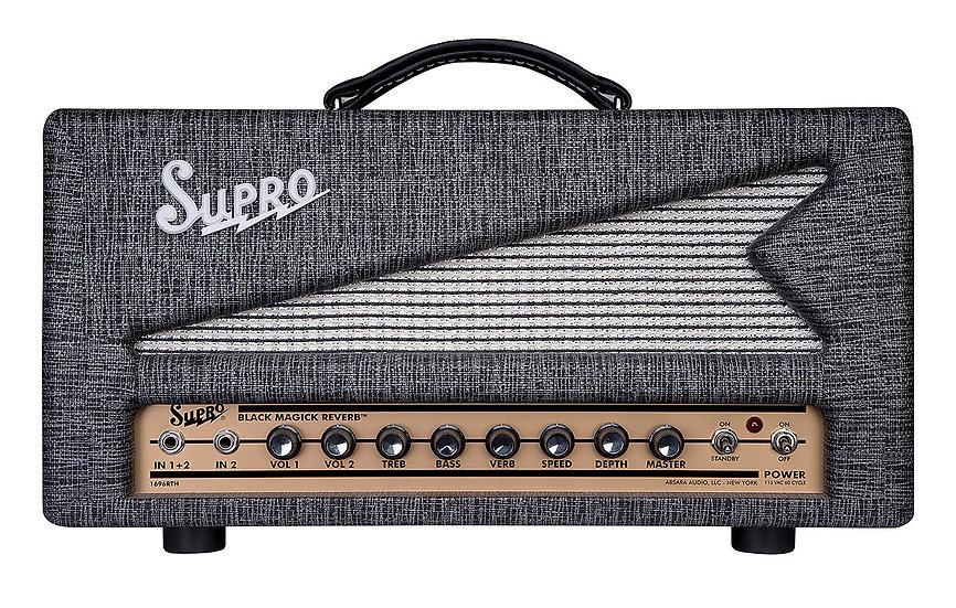 SUPRO 1696RT BLACK MAGICK REVERB HEAD - 240V
