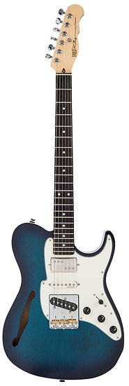 FRET KING BLACK LABEL COUNTRY SQUIRE SEMI-TONE SPECIAL - BLUEBURST