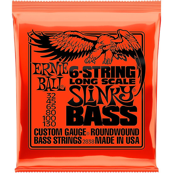 Ernie Ball 6-String Long Scale Slinky