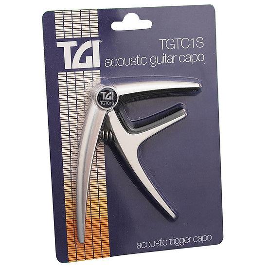 TGI Acoustic Capo - Silver