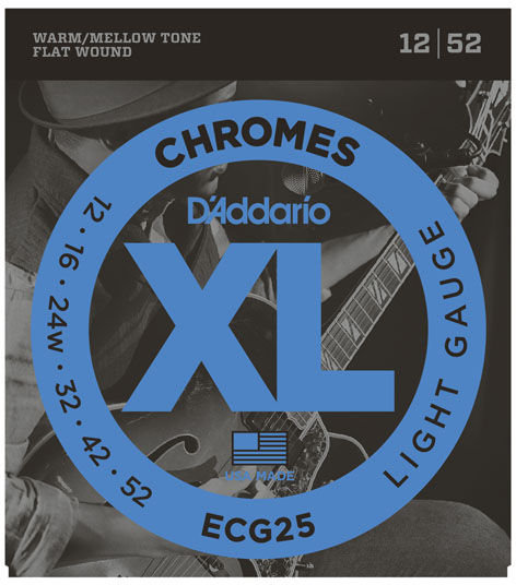 D'addario Chromes Light