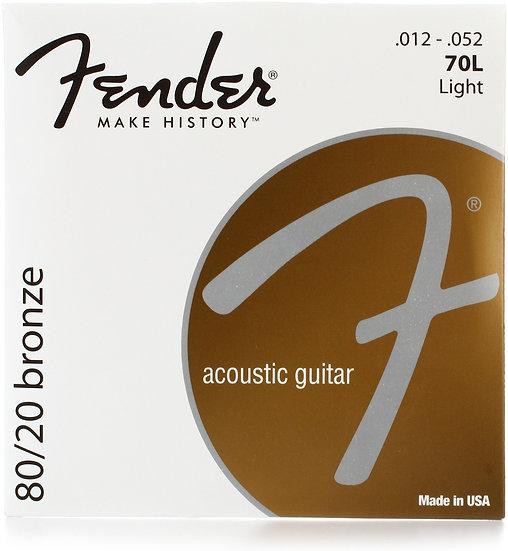 Fender 80/20 Bronze 12 - 52