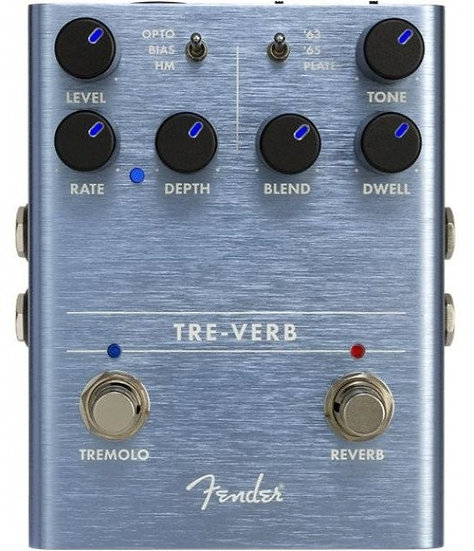 Fender Tre-Verb Reverb Pedal