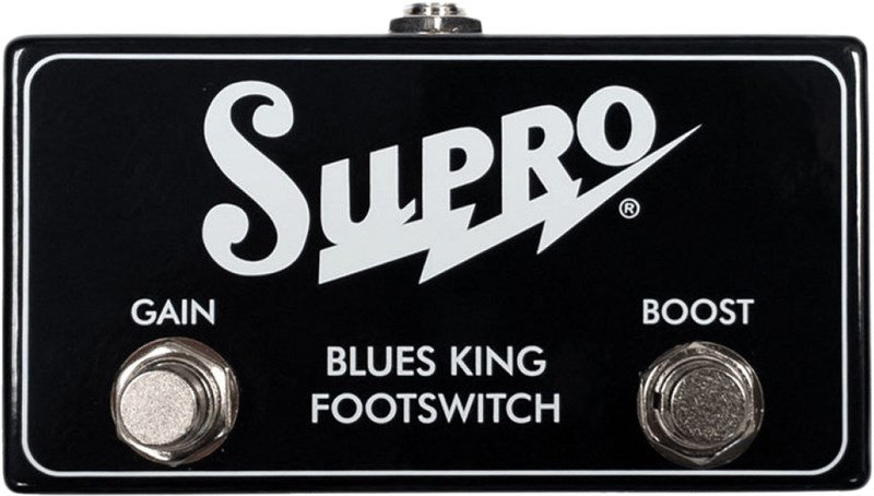 SUPRO BLUES KING DUAL FOOTSWITCH & CABLE
