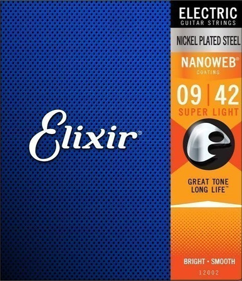 Elixir Nanoweb 9-42 Electric