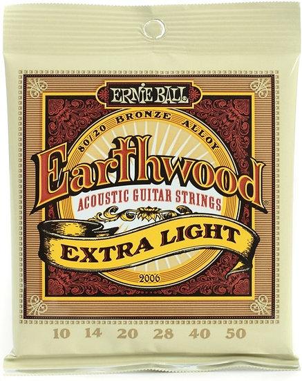 Ernie Ball Earthwood Ex-Light