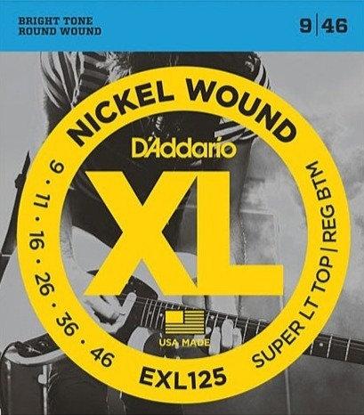 D'addario EXL125 Super LT Top/Reg BTM