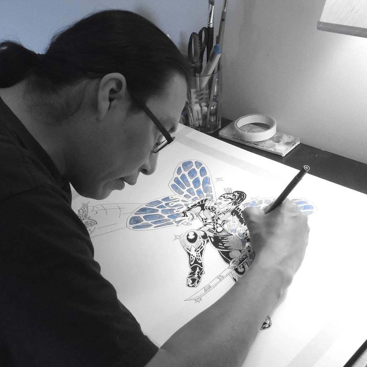 Artist   Pen & Ink