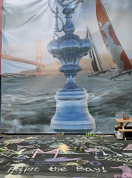 America's Cup Art for Kids