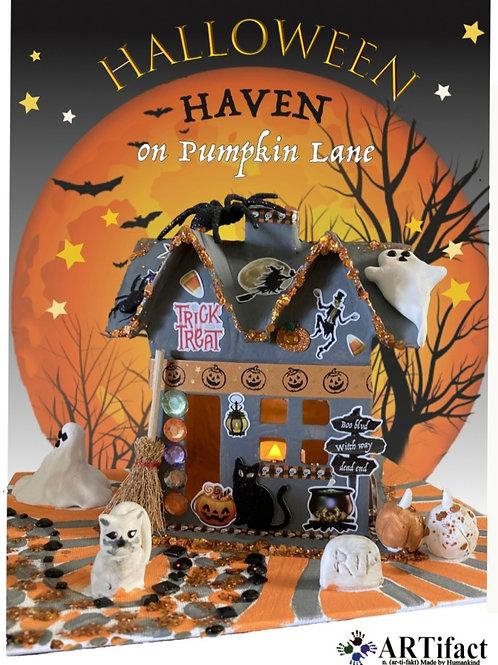 ARTifact Halloween Haven on Pumpkin Lane